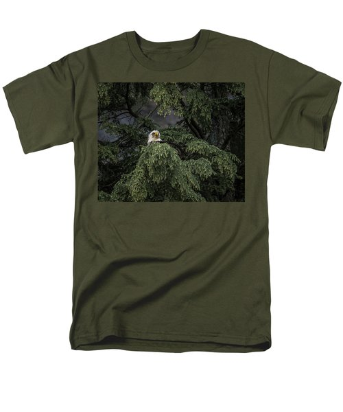 Men's T-Shirt  (Regular Fit) featuring the photograph Eagle Tree by Timothy Latta