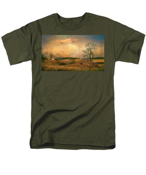 Early Spring Storm Men's T-Shirt  (Regular Fit) by John Rivera
