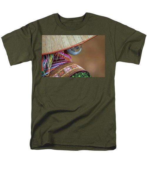 Earring Men's T-Shirt  (Regular Fit) by Hitendra SINKAR
