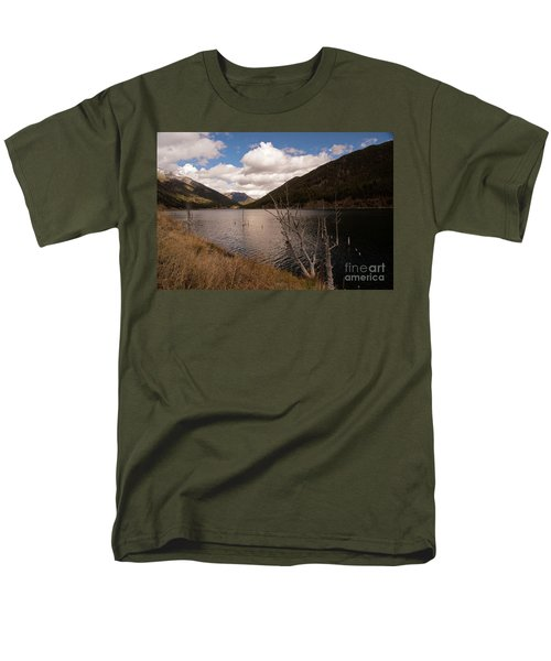 Earthquake Lake Men's T-Shirt  (Regular Fit) by Cindy Murphy - NightVisions