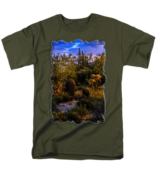 East Of Sunset V40 Men's T-Shirt  (Regular Fit) by Mark Myhaver