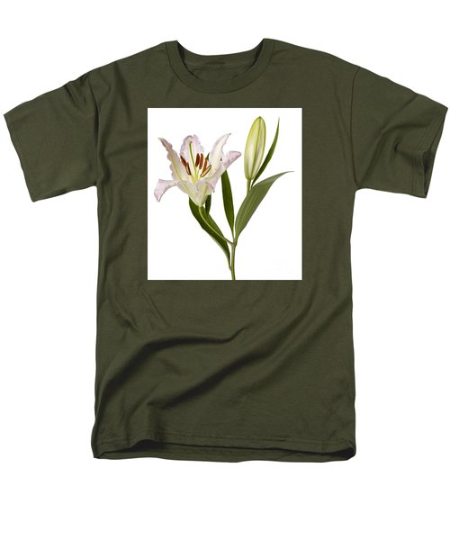 Easter Lilly Men's T-Shirt  (Regular Fit) by Tony Cordoza