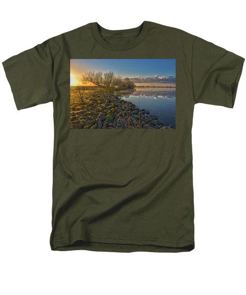 Easter Sunrise Men's T-Shirt  (Regular Fit) by Frans Blok