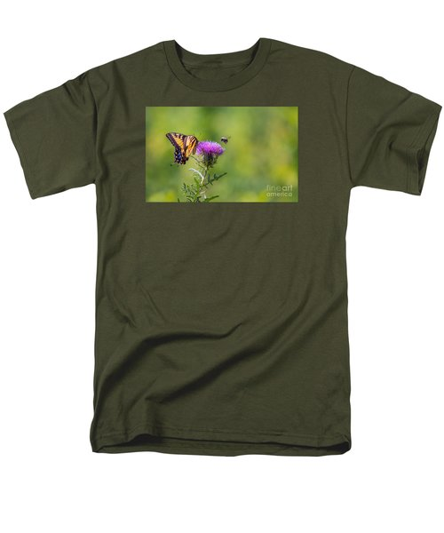Eastern Tiger Swallowtail Men's T-Shirt  (Regular Fit) by Rima Biswas