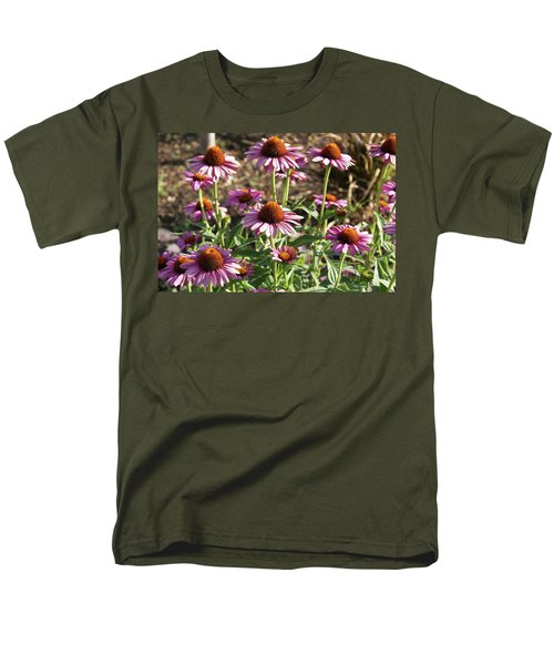 Echinacea Men's T-Shirt  (Regular Fit) by Cynthia Powell