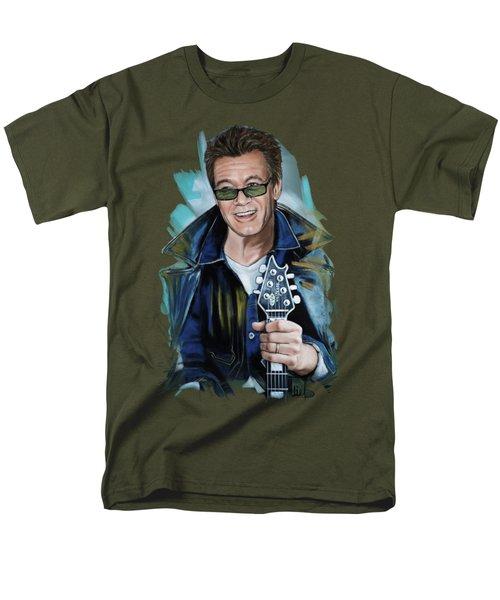 Eddie Van Halen Men's T-Shirt  (Regular Fit)