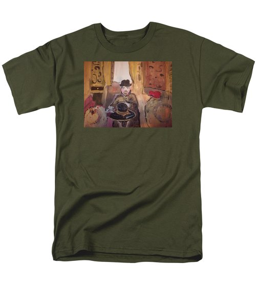 Edwardian Hats Men's T-Shirt  (Regular Fit) by Judith Desrosiers