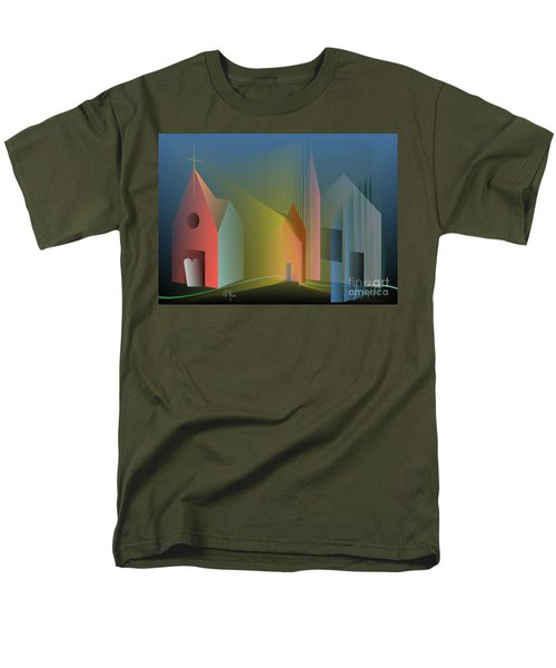 Ego Sum Via Veritas Et Vita Men's T-Shirt  (Regular Fit) by Leo Symon
