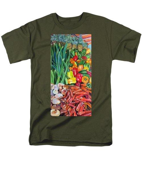 El Valle Market Men's T-Shirt  (Regular Fit)
