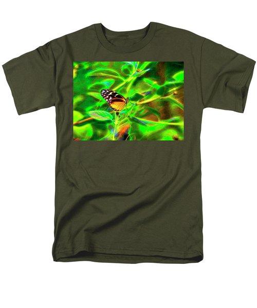 Electric Butterfly Men's T-Shirt  (Regular Fit)