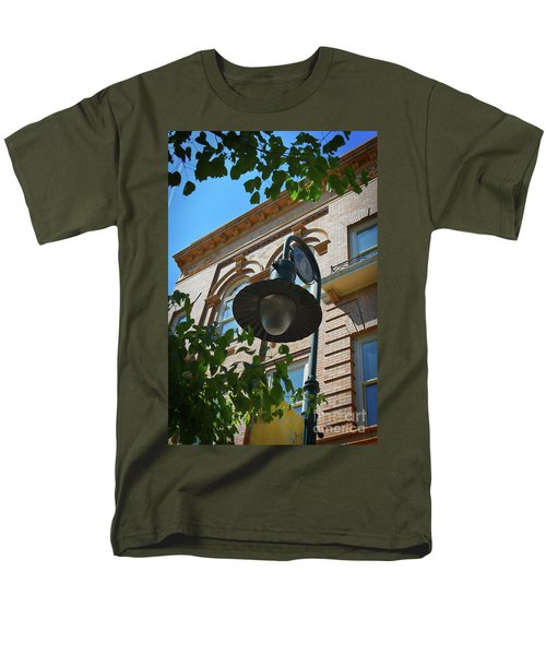 Men's T-Shirt  (Regular Fit) featuring the photograph Electrifying  Architecture by Skip Willits