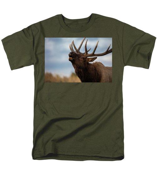 Elk's Screem Men's T-Shirt  (Regular Fit) by Edgars Erglis