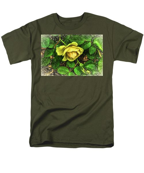 Emergence Men's T-Shirt  (Regular Fit) by Terry Cork