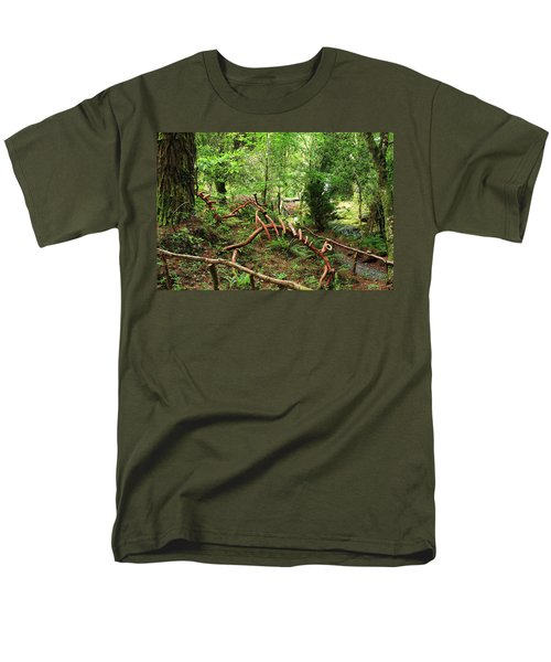 Men's T-Shirt  (Regular Fit) featuring the photograph Enchanted Forest by Aidan Moran