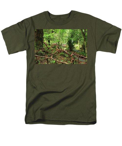 Enchanted Forest Men's T-Shirt  (Regular Fit) by Aidan Moran