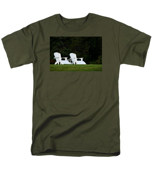 Men's T-Shirt  (Regular Fit) featuring the photograph End Of Season I by Richard Ortolano