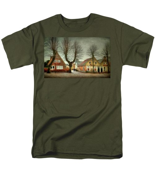 Men's T-Shirt  (Regular Fit) featuring the photograph End Of The Day by Annie Snel