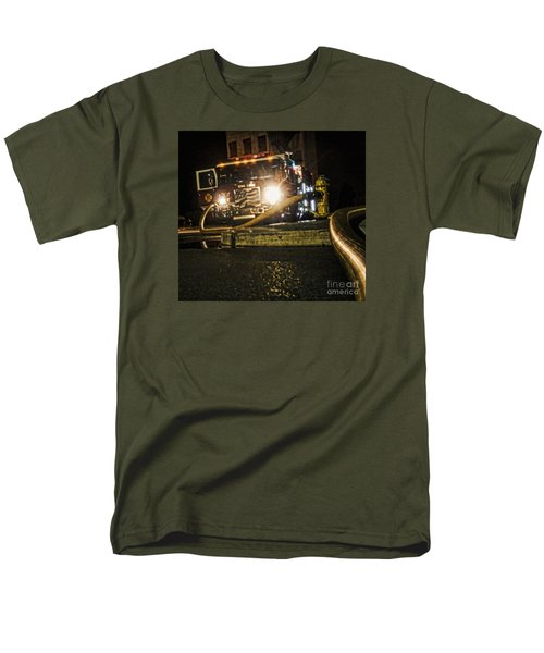 Men's T-Shirt  (Regular Fit) featuring the photograph Engine 4 by Jim Lepard