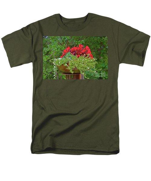 Enjoy The Garden Men's T-Shirt  (Regular Fit) by Ray Shrewsberry