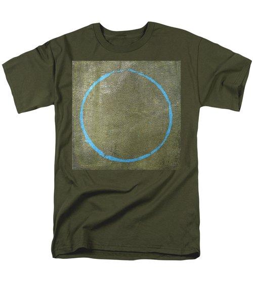 Men's T-Shirt  (Regular Fit) featuring the digital art Enso 2017-15 by Julie Niemela