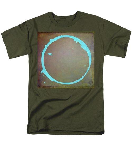 Men's T-Shirt  (Regular Fit) featuring the digital art Enso 2017-2 by Julie Niemela