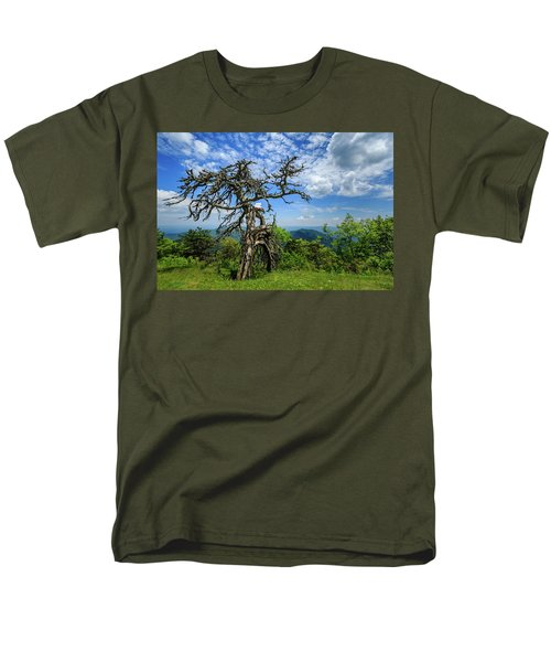 Ent At The Top Of The Hill - Color Men's T-Shirt  (Regular Fit) by Joni Eskridge