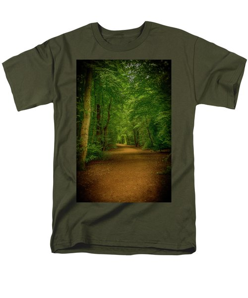 Epping Forest Walk Men's T-Shirt  (Regular Fit) by David French