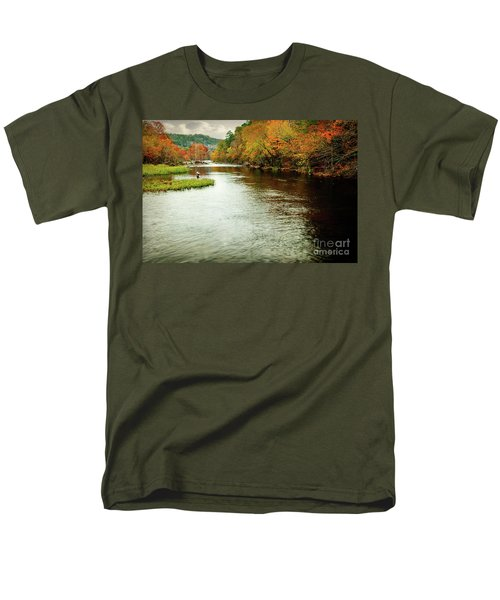 Escape To Beaver's Bend Men's T-Shirt  (Regular Fit) by Tamyra Ayles