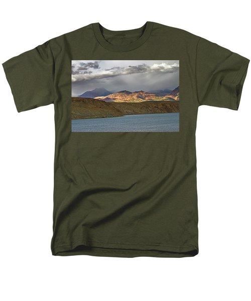 Men's T-Shirt  (Regular Fit) featuring the photograph Evening Light 1, Chiu, 2011 by Hitendra SINKAR