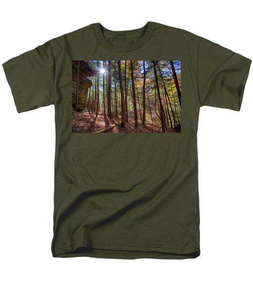 Men's T-Shirt  (Regular Fit) featuring the photograph Evening Shadows by Haren Images- Kriss Haren