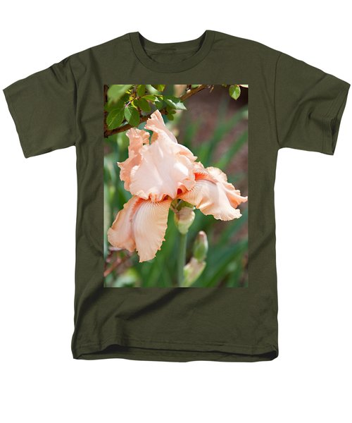 Men's T-Shirt  (Regular Fit) featuring the photograph Everything Is Peachy by Sherry Hallemeier