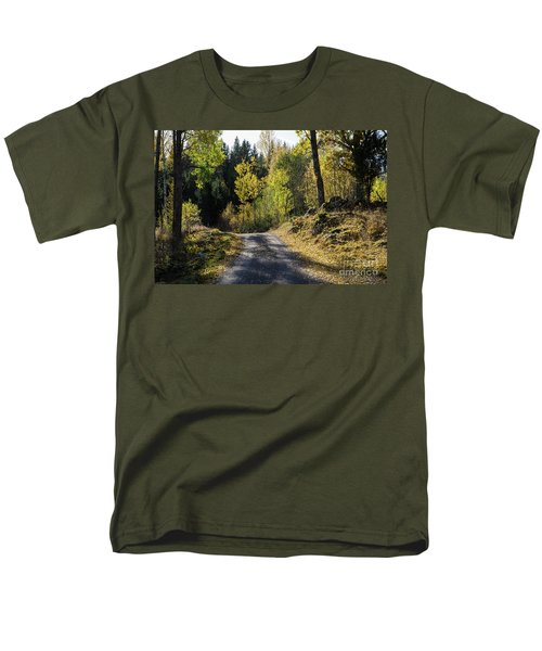 Exploring The Fall Season Men's T-Shirt  (Regular Fit) by Kennerth and Birgitta Kullman