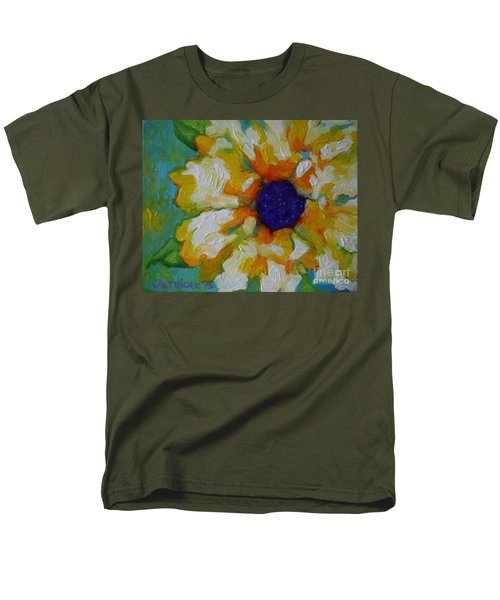 Eye Of The Flower Men's T-Shirt  (Regular Fit) by Alison Caltrider