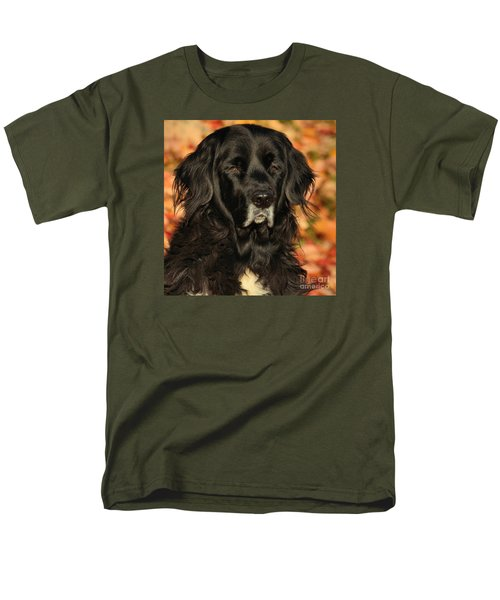 Men's T-Shirt  (Regular Fit) featuring the photograph Eyes Of Autumn by Debbie Stahre