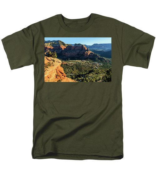 F And B Ridge 07-021 Men's T-Shirt  (Regular Fit) by Scott McAllister