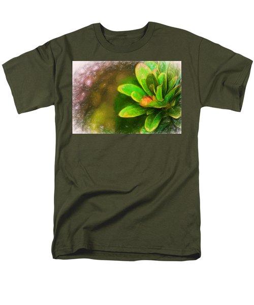 Faded Flora Men's T-Shirt  (Regular Fit) by Terry Cork