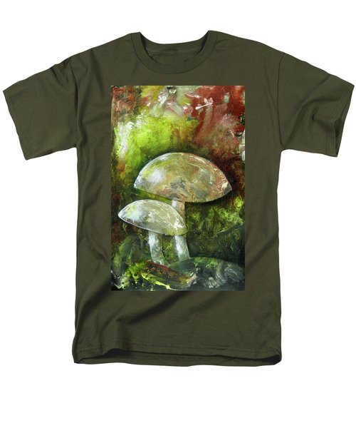 Fairy Kingdom Toadstool Men's T-Shirt  (Regular Fit) by Terry Honstead