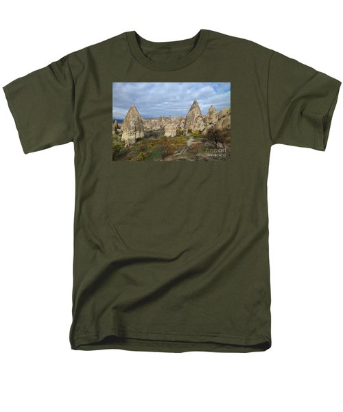Men's T-Shirt  (Regular Fit) featuring the photograph Fairy Tale Of Cappadocia by Yuri Santin