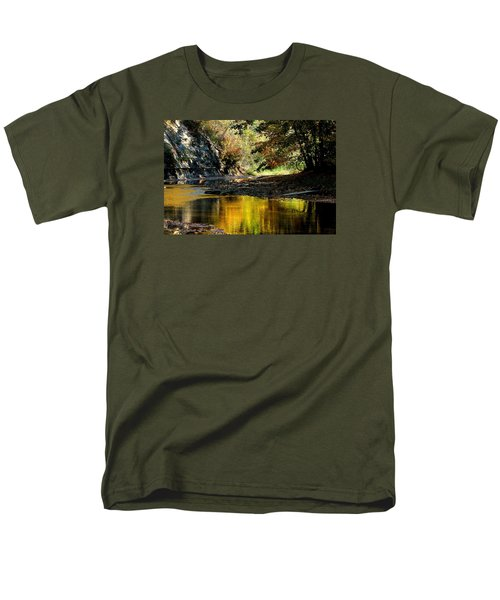 Fall At Big Creek Men's T-Shirt  (Regular Fit) by Bruce Patrick Smith