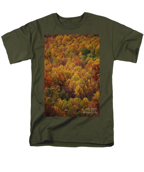 Fall Cluster Men's T-Shirt  (Regular Fit) by Eric Liller