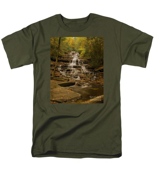 Fall Colors At Minnehaha Falls Men's T-Shirt  (Regular Fit)