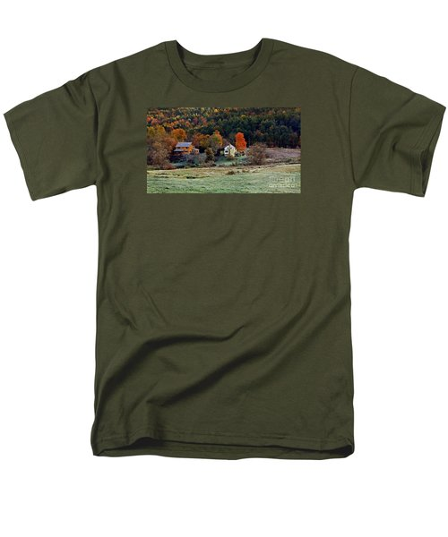 Men's T-Shirt  (Regular Fit) featuring the photograph Fall Country Side - Vt2015 by Joe Finney