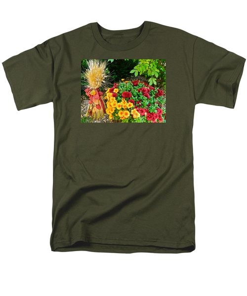 Men's T-Shirt  (Regular Fit) featuring the photograph Fall Fantasy by Randy Rosenberger