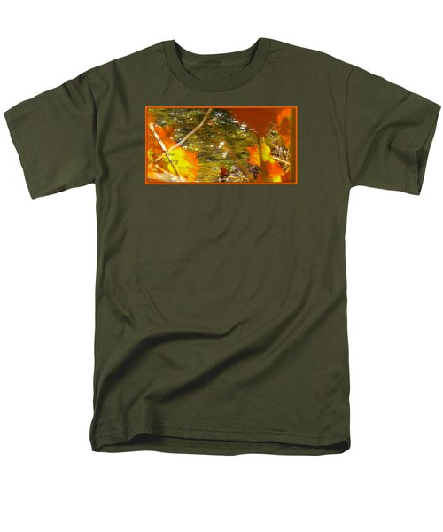 Men's T-Shirt  (Regular Fit) featuring the photograph Fall Flyer by David Norman