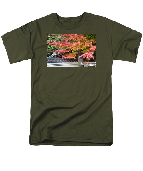 Men's T-Shirt  (Regular Fit) featuring the photograph Fall In Japan by Tad Kanazaki