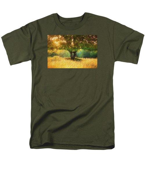 Fall In The Meadow Men's T-Shirt  (Regular Fit) by Rena Trepanier