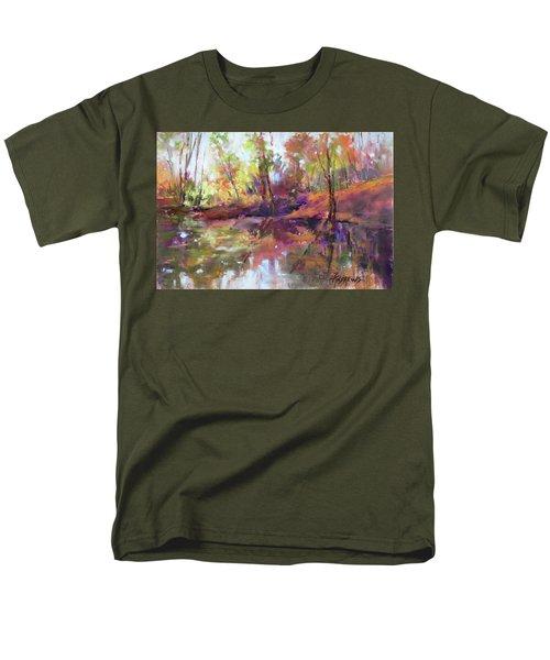 Fall Millpond Men's T-Shirt  (Regular Fit)