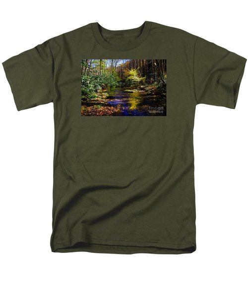 Fall On Rough Creek Men's T-Shirt  (Regular Fit) by Paul Mashburn