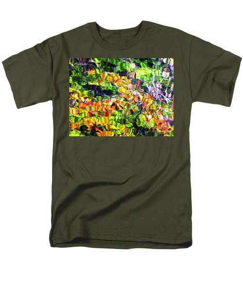 Men's T-Shirt  (Regular Fit) featuring the photograph Fall On The Pond by Melissa Stoudt