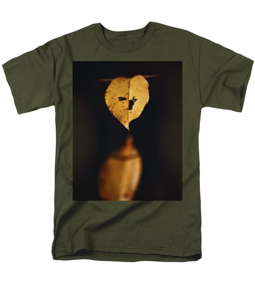 Men's T-Shirt  (Regular Fit) featuring the photograph Fall Reflections by Eduard Moldoveanu